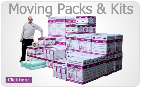 Moving house packs and kits